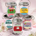 <em>Design Your Own Collection</em> Mini Paint Cans Favors - Holiday Themed