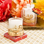 Gold Magic Lantern candle Votive holder from Fashioncraft