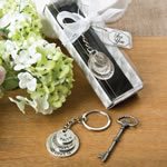 Love, Hope and Faith stacked disc key chain
