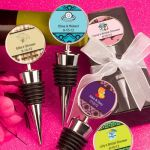<em>Personalized Expressions Collection</em> Wine  Bottle Stopper Favors