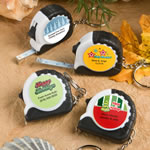 <em>Design Your Own Collection</em> Key Chain/Measuring Tape Favors - Holiday Themed