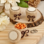 Perfectly Plain  Collection Burlap boxes