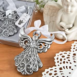 Silver Angel Ornament with Antique Finish from Fashioncraft®