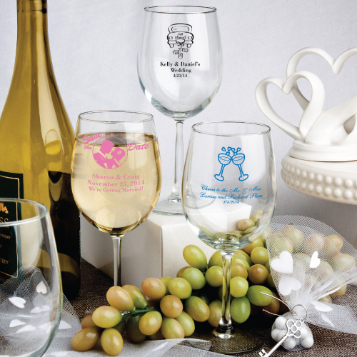 Stem Wine Glass Favors