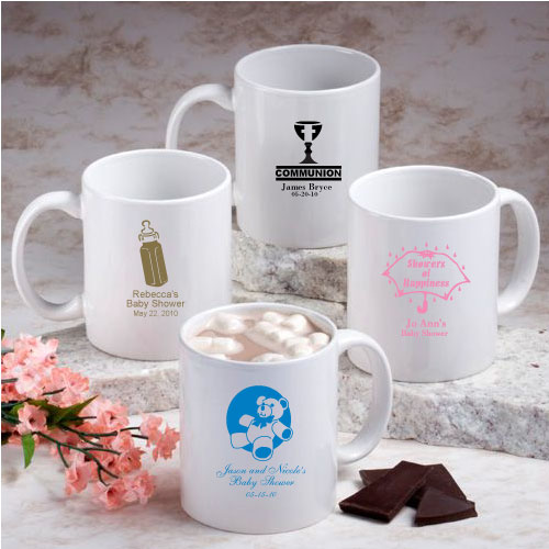 Personalized Wedding Favor Coffee Mugs : ... about 48 Personalized Coffee Mug Wedding / Bridal Shower Favors