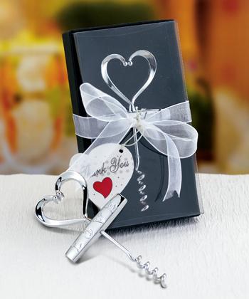 heart design corkscrews