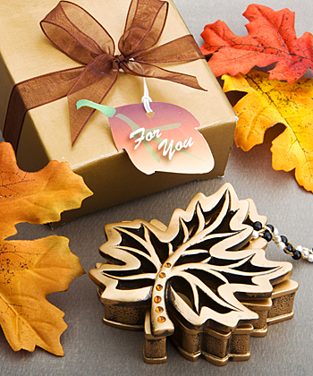 Bring the brilliance of autumn to your wedding or special occasion with