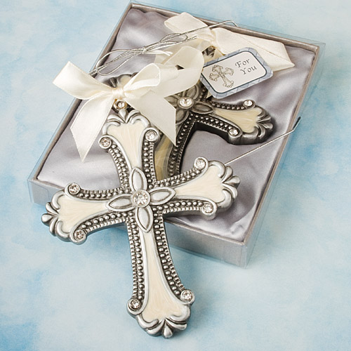 Baptism Ornament Christmas Ornament Personalized Baby: 48 Decorative Cross Ornament Christening / Baby Shower
